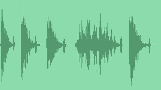 Transition Stinger Boom Sound Pack: Sound Effects