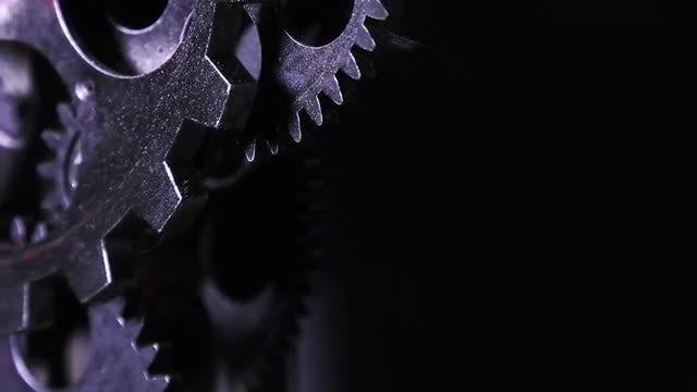 Clock Gears: Stock Video