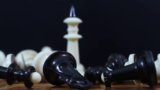 Defeat In Chess: Stock Video