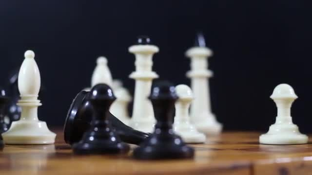 Chessboard: Stock Video