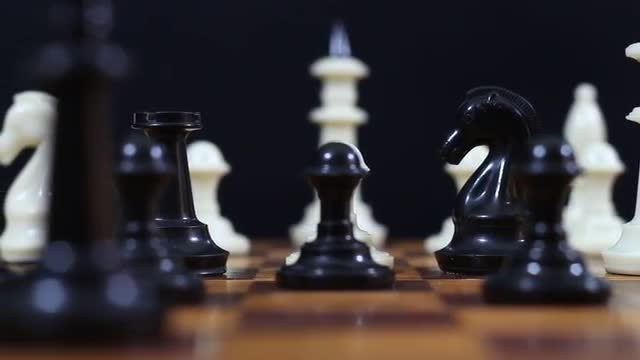A Chessboard: Stock Video
