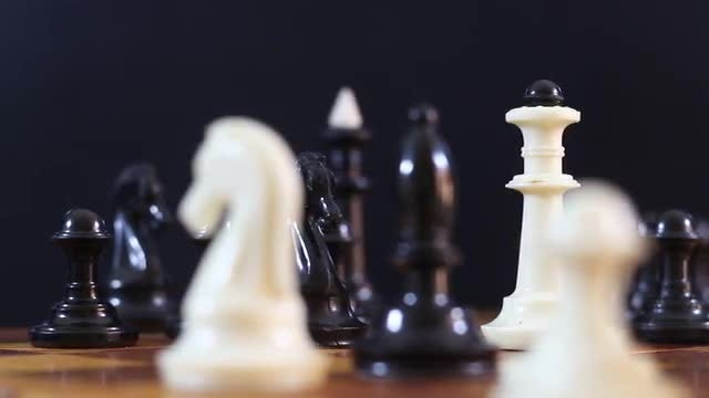 Chess Pieces: Stock Video
