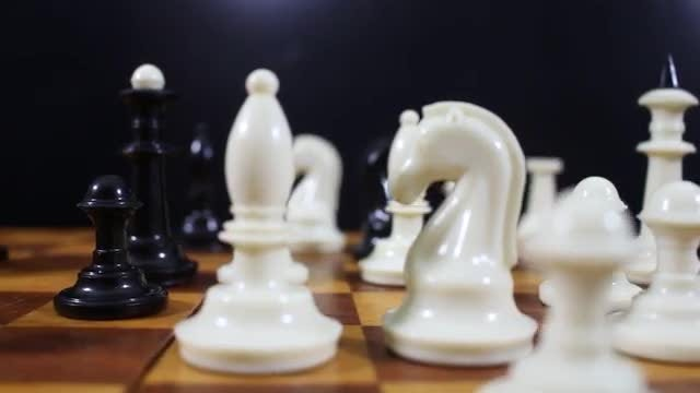 Chessboard In Motion: Stock Video