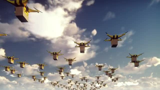 Drones Delivery Pack: Stock Motion Graphics