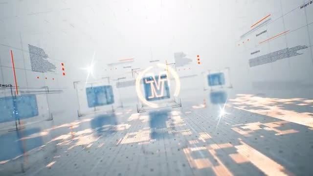 3D Tech Logo: After Effects Templates
