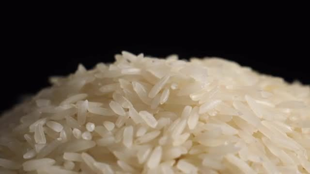 Close-Up Of Rice: Stock Video