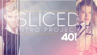 Sliced Opener: After Effects Templates