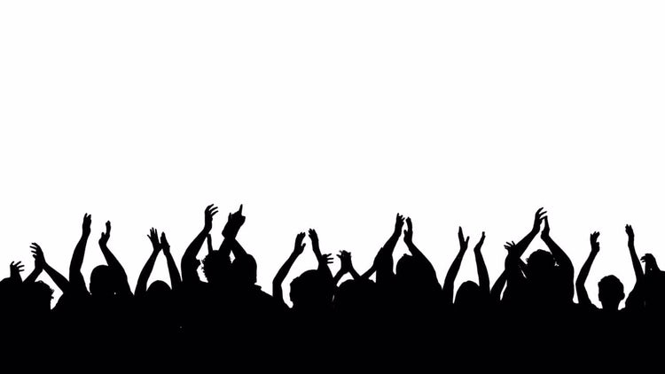 Crowd People Claps: Stock Motion Graphics