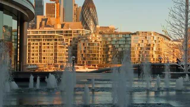 London Financial Hub: Stock Video