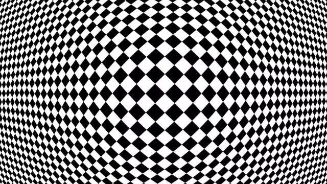 Hypnotic Chess Board Movement 4K: Stock Motion Graphics