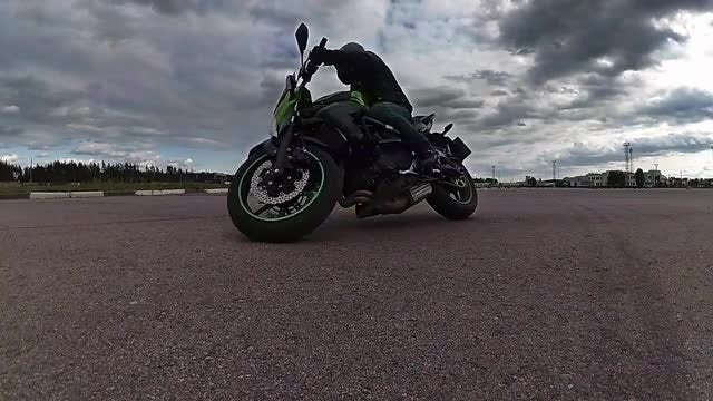 Cool Biker: Stock Video