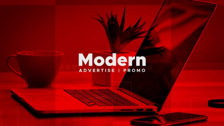 Modern Advertise Promo: After Effects Templates