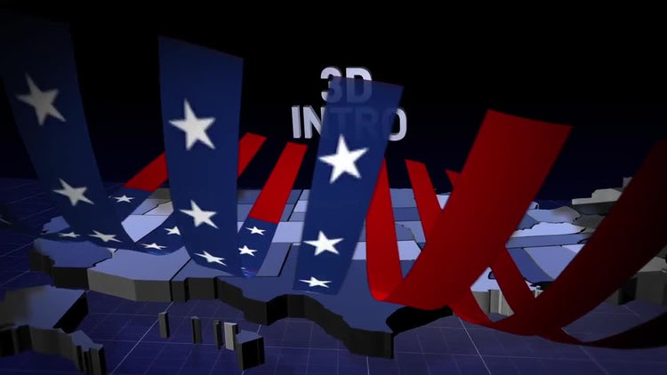 Election Night Intro: After Effects Templates