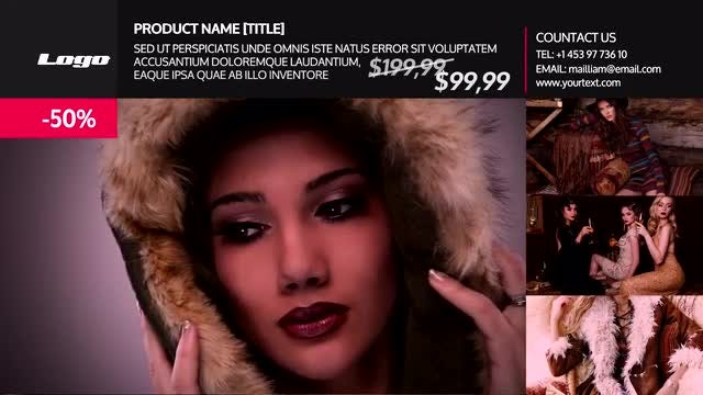Clothing Store SlideShow - After Effects Templates | Motion