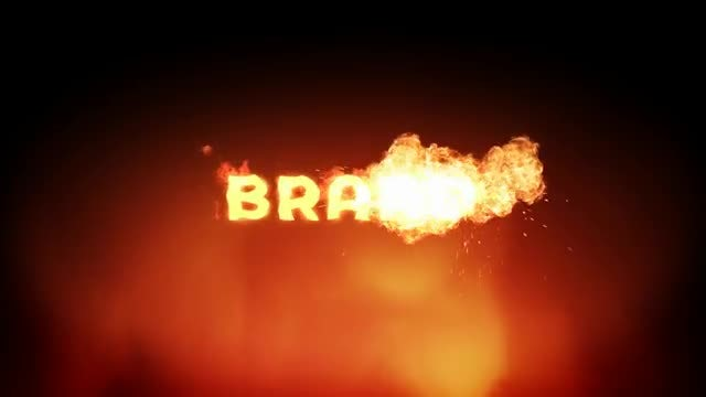 Fire Brand Reveal: Motion Graphics Templates