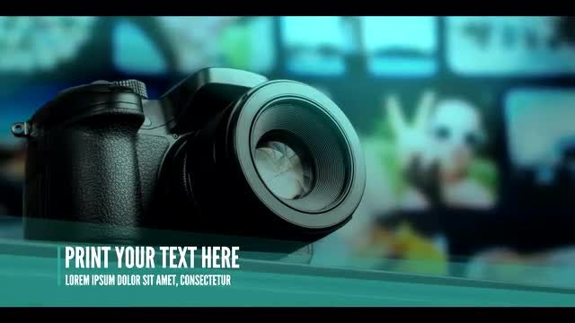 Modern Corporate Technology Slideshow: After Effects Templates