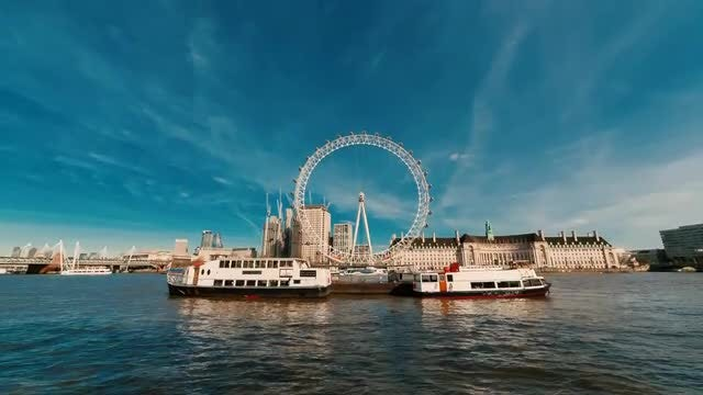 London Eye: Stock Video