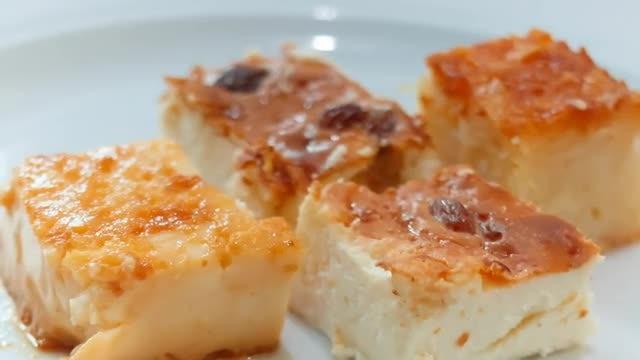 Yummy Dessert: Stock Video