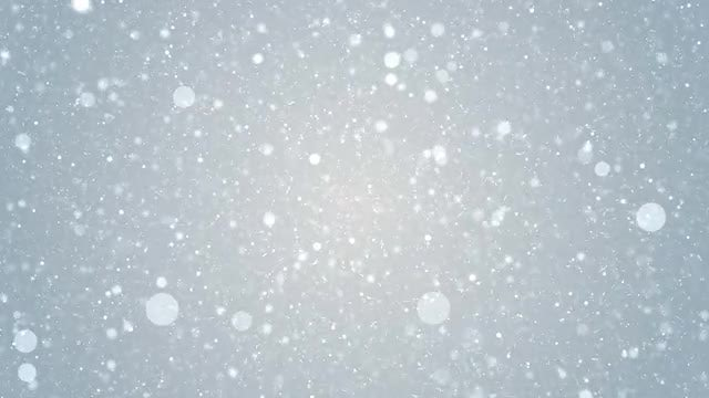 Snow Animation: Stock Motion Graphics