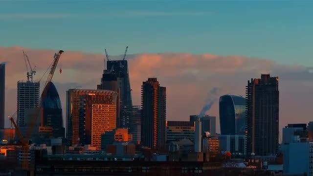 City Of London Revealed: Stock Video