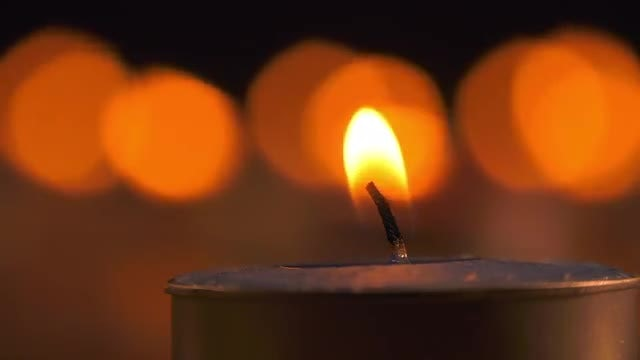 Candle Light: Stock Video