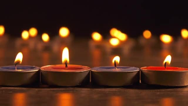 Candles: Stock Video