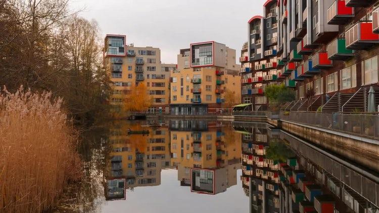 Sustainable Housing: Stock Video