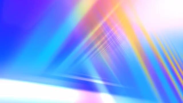 Triangular Lights: Stock Motion Graphics