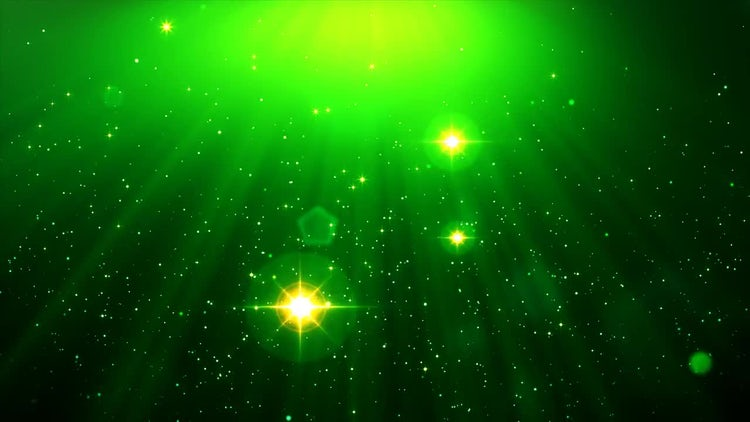 Green Sparkle: Stock Motion Graphics