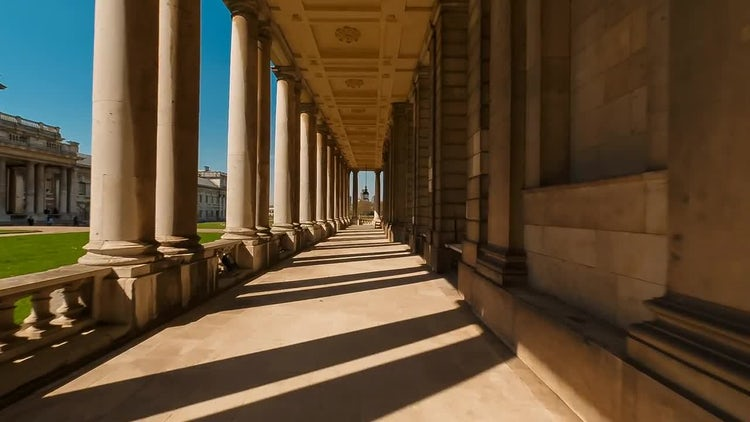Old Royal Naval College: Stock Video