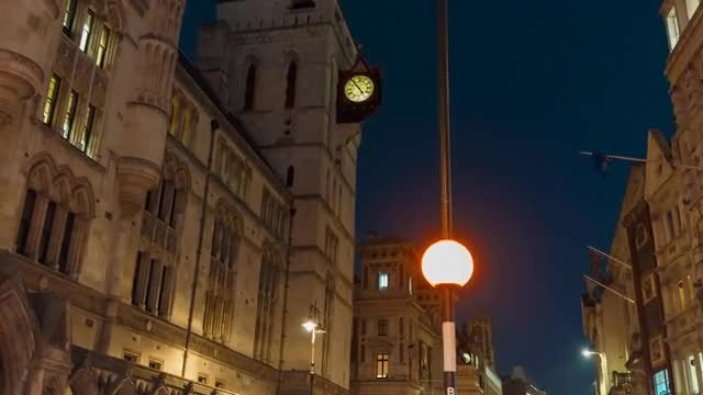 Royal Courts Of Justice: Stock Video