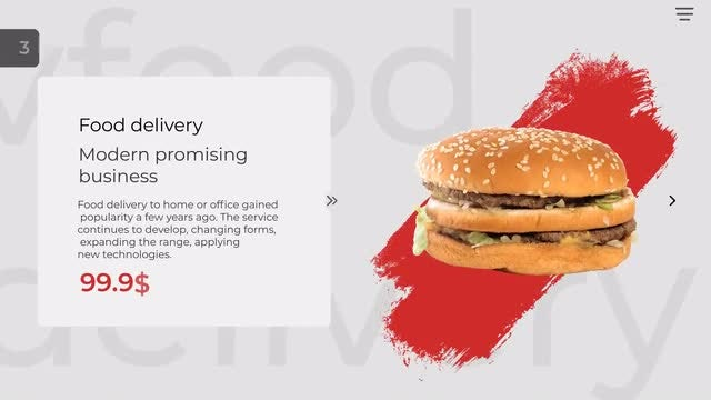 Food Delivery Promo - After Effects Templates | Motion Array