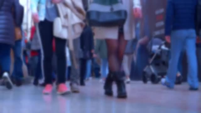People Walking: Stock Video