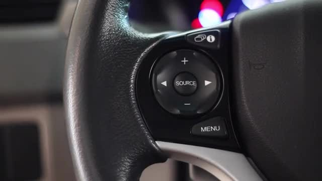 Steering Wheel: Stock Video