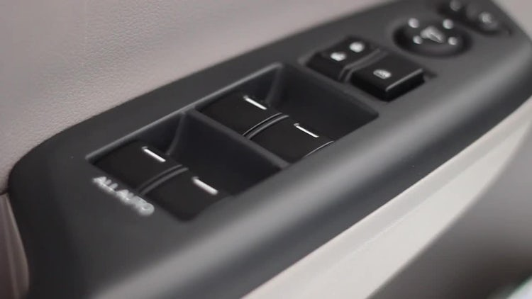 Car Window Switch: Stock Video