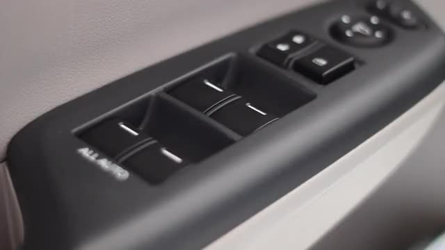 Car Window Switch: Stock Video