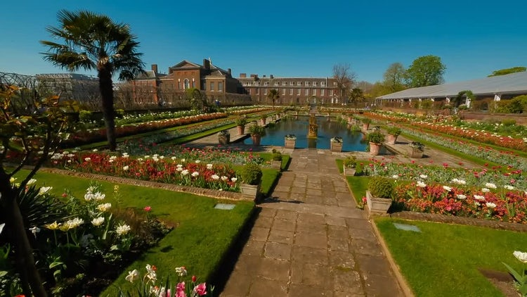 Royal Kensington Palace: Stock Video