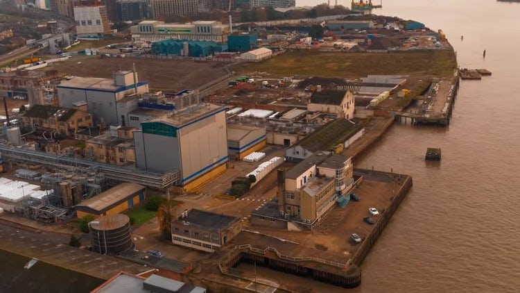 Industrial Complex: Stock Video