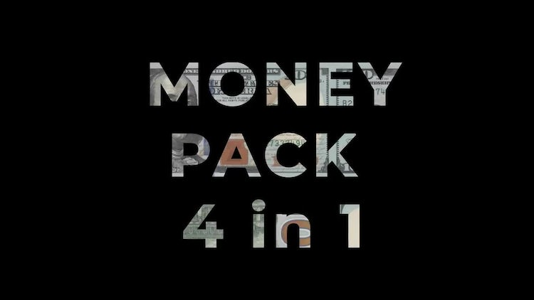 Money Overlay And Transition Pack: Stock Motion Graphics