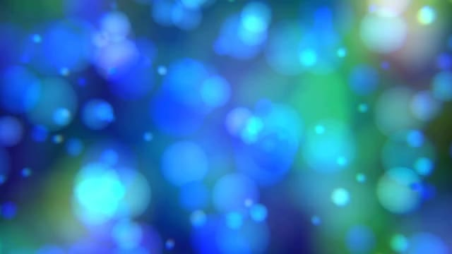 Blue Bubble Bokeh Background: Stock Motion Graphics