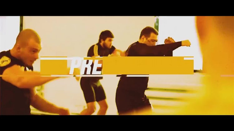 Be Strong Sport Motivation: After Effects Templates