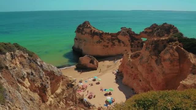 Tourists Sunbathing: Stock Video