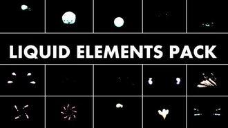 Liquid Elements Pack: Motion Graphics