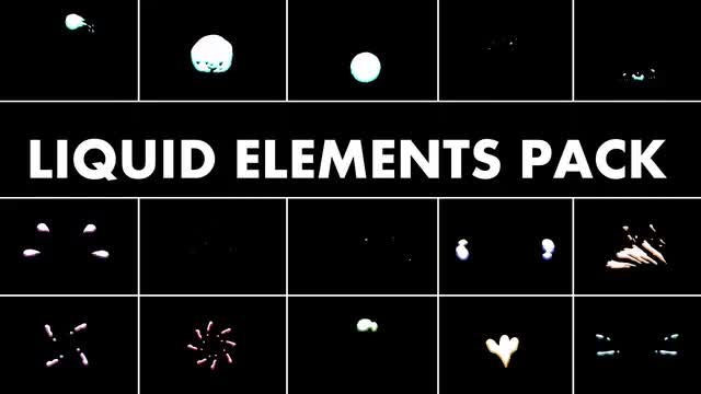 Liquid Elements Pack: Stock Motion Graphics
