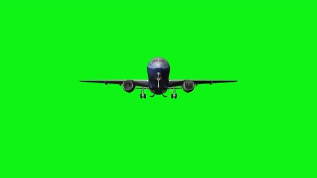 Computer Rendering Of Flying Jet: Stock Motion Graphics