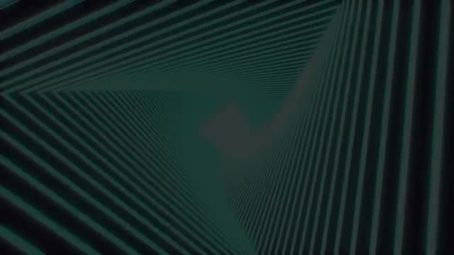 Abstract Triangles Glitch Logo: After Effects Templates