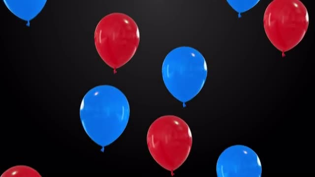 Balloons Fly: Stock Motion Graphics