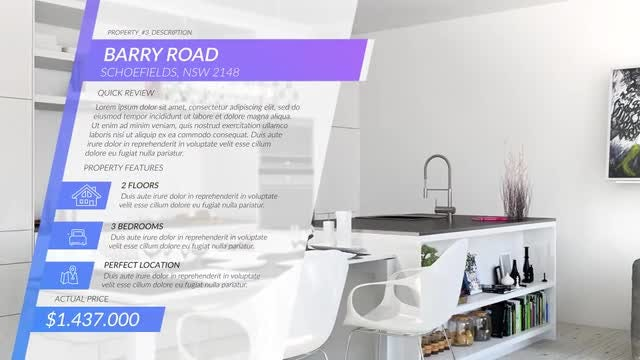 Real Estate Slides: After Effects Templates