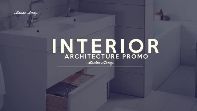 Interior Architecture Promo: After Effects Templates