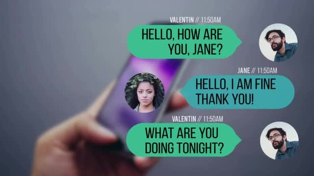 Text Messages: Premiere Pro Templates